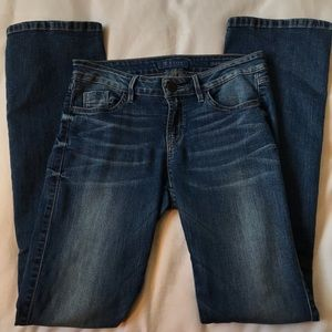 Guess Brittany Boot Dark Wash Jean
